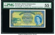 Bermuda Bermuda Government 1 Pound 1.10.1966 Pick 20d PMG About Uncirculated 55 EPQ.   HID09801242017  © 2020 Heritage Auctions | All Rights Reserve