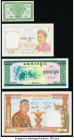 Cambodia, Lao and South Vietnam Group Lot of 7 Examples Crisp Uncirculated.   HID09801242017  © 2020 Heritage Auctions | All Rights Reserve
