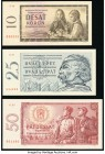 Czechoslovakia and Serbia Grouping of 6 Examples Choice Uncirculated-Crisp Uncirculated.   HID09801242017  © 2020 Heritage Auctions | All Rights Reser...