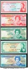 East Caribbean States Currency Authority; Central Bank 1 (2); 5 (2); 10 Dollars ND (1965); ND (1985-88); ND (2003) (2); ND (1965) Pick 13a; 17k; 42m; ...
