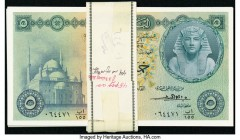 Egypt National Bank of Egypt 5 Pounds 1952-60 Pick 31 40 Examples Choice Crisp Uncirculated.   HID09801242017  © 2020 Heritage Auctions | All Rights R...