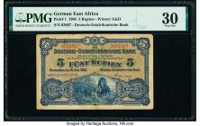 German East Africa Deutsch-Ostafrikanische Bank 5 Rupien 15.6.1905 Pick 1 PMG Very Fine 30.   HID09801242017  © 2020 Heritage Auctions | All Rights Re...