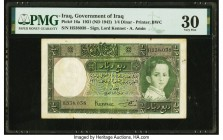 Iraq Government of Iraq 1/4 Dinar 1931 (ND 1942) Pick 16a PMG Very Fine 30.   HID09801242017  © 2020 Heritage Auctions | All Rights Reserve