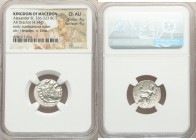 MACEDONIAN KINGDOM. Alexander III the Great (336-323 BC). AR drachm (18mm, 4.34 gm, 1h). NGC Choice AU 4/5 - 4/5. Posthumous issue of Abydus, ca. 310-...