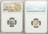 MACEDONIAN KINGDOM. Alexander III the Great (336-323 BC). AR drachm (17mm, 12h). NGC AU. Early posthumous issue of Magnesia ad Maeandrum, ca. 319-305 ...