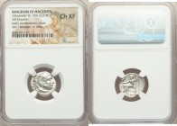 MACEDONIAN KINGDOM. Alexander III the Great (336-323 BC). AR drachm (18mm, 12h). NGC Choice XF. Posthumous issue of Abydus, ca. 310-301 BC. Head of He...