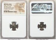 BRITAIN. Iceni. Ecen (ca. AD 10-45). AR unit (15mm, 1.21 gm, 1h). NGC Choice VF 4/5 - 4/5, light scratches. Ecen symbol type. Two crescents back-to-ba...