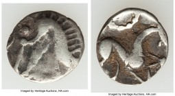 BRITAIN. North Eastern Region. Corieltavi. Ca. 50 BC-AD 1. AR unit (14mm, 0.96 gm, 11h). Fine. Early uninscribed issues, South Ferriby Plain type. Boa...