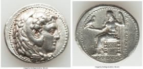 MACEDONIAN KINGDOM. Alexander III the Great (336-323 BC). AR tetradrachm (28mm, 17.13 gm, 6h). Choice VF. Early posthumous issue of 'Babylon', ca. 323...
