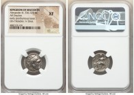 MACEDONIAN KINGDOM. Alexander III the Great (336-323 BC). AR drachm (17mm, 12h). NGC XF. Posthumous issue of Magnesia ad Maeandrum, ca. 305-297 BC. He...