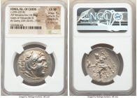 IONIAN ISLANDS. Chios. Ca. late 3rd-early 2nd centuries BC. AR tetradrachm (31mm, 16.95 gm, 11h). NGC Choice XF 5/5 - 3/5, Fine Style, light scratches...
