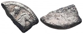 AR Archaic Cut coin. Circa 454-404 BC.  Condition: Very Fine  Weight: 7.50 gr Diameter: 22 mm