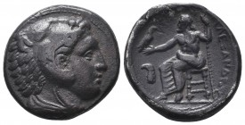 Greek, Kings of Macedon, Alexander III the Great 336-232 BC, Ar Tetradrachm.  Condition: Very Fine  Weight: 16.90 gr Diameter: 26 mm