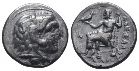 Greek, Kings of Macedon, Alexander III the Great 336-232 BC, Ar Tetradrachm.  Condition: Very Fine  Weight: 16.70 gr Diameter: 29 mm