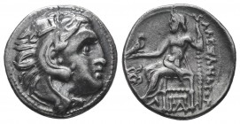 Greek, Kings of Macedon, Alexander III the Great 336-232 BC, Ar Drachm.  Condition: Very Fine  Weight: 4.20 gr Diameter: 18 mm