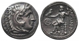 Greek, Kings of Macedon, Alexander III the Great 336-232 BC, Ar Drachm.  Condition: Very Fine  Weight: 4.10 gr Diameter: 19 mm