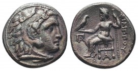 Greek, Kings of Macedon, Alexander III the Great 336-232 BC, Ar Drachm.  Condition: Very Fine  Weight: 4.00 gr Diameter: 17 mm
