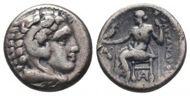 Greek, Kings of Macedon, Alexander III the Great 336-232 BC, Ar Drachm.  Condition: Very Fine  Weight: 4.30 gr Diameter: 16 mm