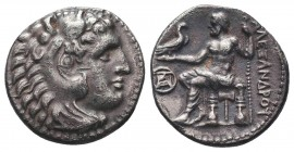 Greek, Kings of Macedon, Alexander III the Great 336-232 BC, Ar Drachm.  Condition: Very Fine  Weight: 4.00 gr Diameter: 18 mm