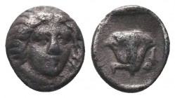 Rhodos, Rhodes AR. Circa 305-275 BC.  Condition: Very Fine  Weight: 1.60 gr Diameter: 12 mm