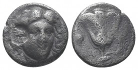 Rhodos, Rhodes AR Didrachm. Circa 305-275 BC.  Condition: Very Fine  Weight: 6.10 gr Diameter: 19 mm