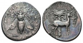 Ionia, Ephesos. AR Drachm., c. 202-150 BC.  Condition: Very Fine  Weight: 3.60 gr Diameter: 20 mm