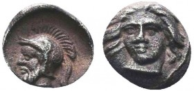 Cilicia, Tarsos. Pharnabazos. Silver Hemiobol, Persian general, 380-374/3 BC.   Condition: Very Fine  Weight: 0.20 gr Diameter: 6.30 mm