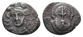 Cilicia, Tarsos. Balakros, Satrap of Cilicia (333-323 BC). AR Obol  Condition: Very Fine  Weight: 1.30 gr Diameter: 10 mm