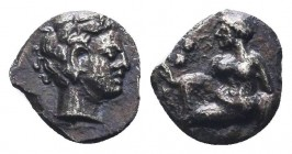 CILICIA, Tarsus. Circa 425-385 BC. AR Obol   Condition: Very Fine  Weight: 0.20 gr Diameter: 8 mm