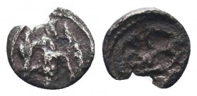 CILICIA, Circa 425-385 BC. AR Hemiobol   Condition: Very Fine  Weight: 0.20 gr Diameter: 7 mm