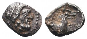 CILICIA. Circa 425-385 BC. AR Obol   Condition: Very Fine  Weight: 0.60 gr Diameter: 9 mm