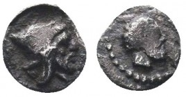 Cilicia Uncertain. AR Obol, c. 525-475 BC.  Condition: Very Fine  Weight: 0.10 gr Diameter: 6 mm