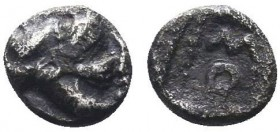 CILICIA, Soloi. 425-400 BC. AR Obol  Condition: Very Fine  Weight: 0.30 gr Diameter: 6 mm