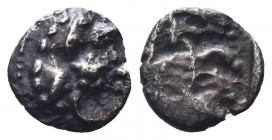 CILICIA, Uncertain. 425-400 BC. AR Obol  Condition: Very Fine  Weight: 1.60 gr Diameter: 6 mm