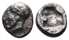 CILICIA, Uncertain. 425-400 BC. AR Obol  Condition: Very Fine  Weight: 1.20 gr Diameter: 9 mm