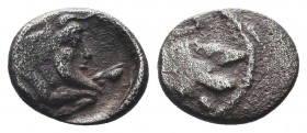 CILICIA, Mallos. Circa 425-385 BC. AR Obol   Condition: Very Fine  Weight: 0.80 gr Diameter: 10 mm