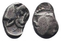 CILICIA, Mallos. Circa 425-385 BC. AR Obol   Condition: Very Fine  Weight: 0.70 gr Diameter: 8 mm