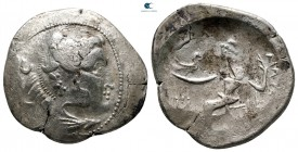 Eastern Europe. Imitations of Alexander III of Macedon 300-200 BC. Tetradrachm AR
