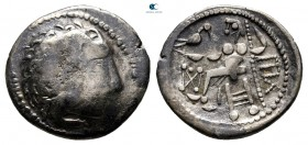 Eastern Europe. Imitations of Alexander III of Macedon 300-200 BC. Drachm AR