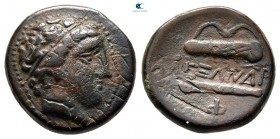 Eastern Europe. Imitations of Alexander III of Macedon circa 300 BC. Bronze Æ