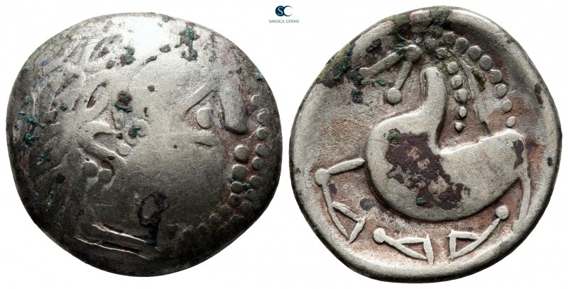 Eastern Europe. 'Sattelkopfpferd' type 200-100 BC. 