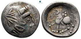 Danube Region. Imitating Philip II of Macedon circa 150-50 BC. Tetradrachm AR