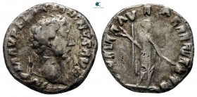 Eastern Europe. Imitation of Marcus Aurelius AD 160-180. Fourrée Denarius