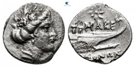 Kings of Macedon. Pella or Amphipolis. Time of Philip V - Perseus circa 187-168 BC. Tetrobol AR