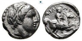 Kings of Macedon. Amphipolis. Philip III Arrhidaeus 323-317 BC. In the types of Philip II. 1/5 Tetradrachm AR