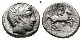 Kings of Macedon. Pella. Philip II of Macedon 359-336 BC. 1/5 Tetradrachm AR