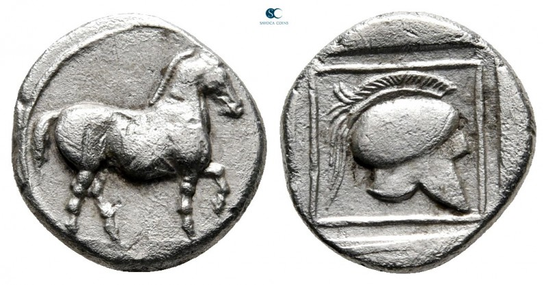 Kings of Macedon. Aigai. Perdikkas II 451-413 BC. Struck 445-437 BC