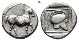 Kings of Macedon. Aigai. Perdikkas II 451-413 BC. Struck 445-437 BC. Tetrobol AR