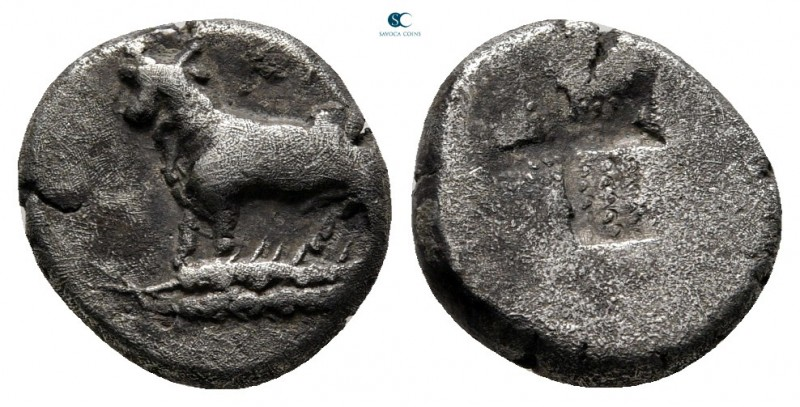 Thrace. Byzantion circa 387-340 BC. 