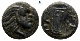 The Tauric Chersonese. Pantikapaion 340-325 BC. Bronze Æ
